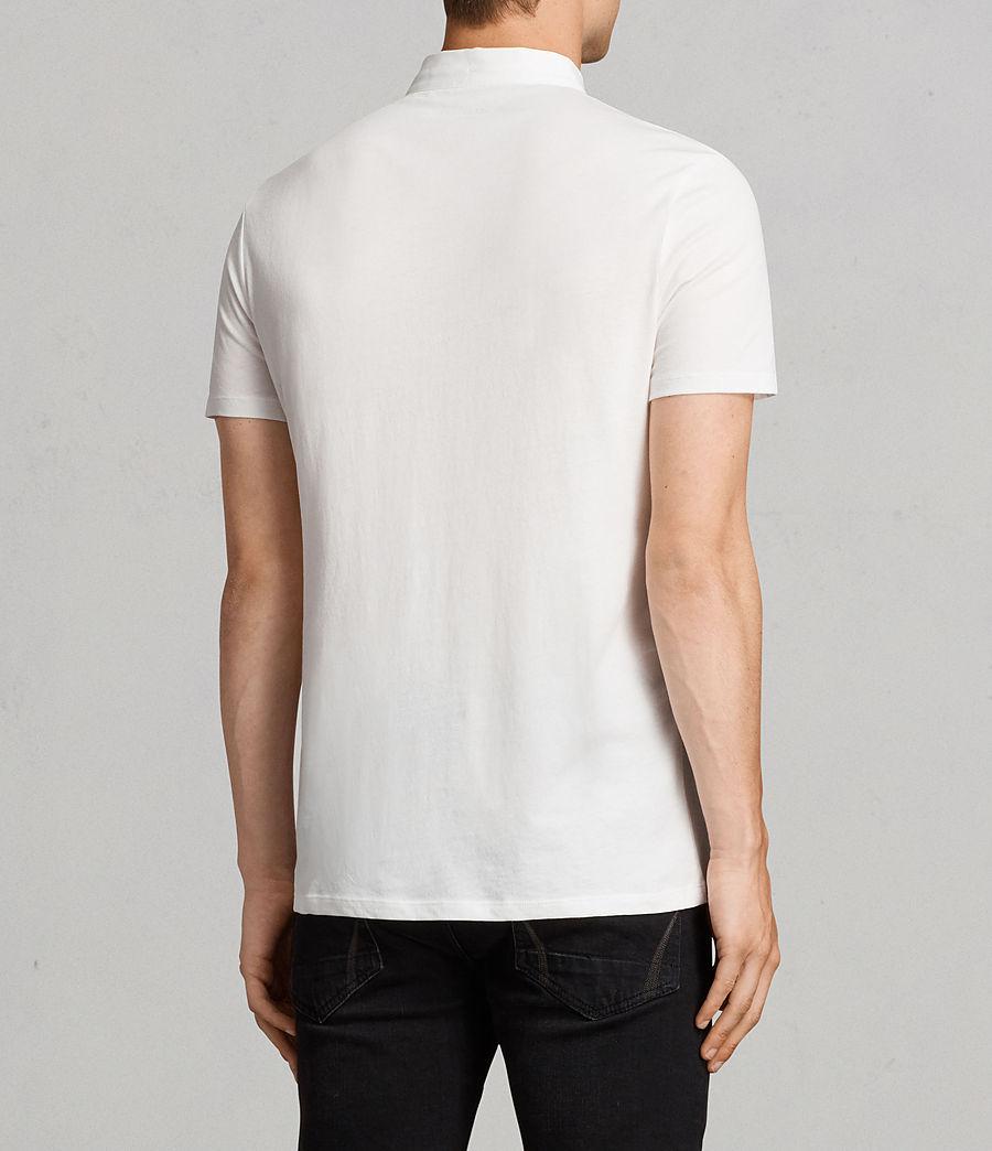 Mens Grail Polo Shirt (chalk_white) - Image 4