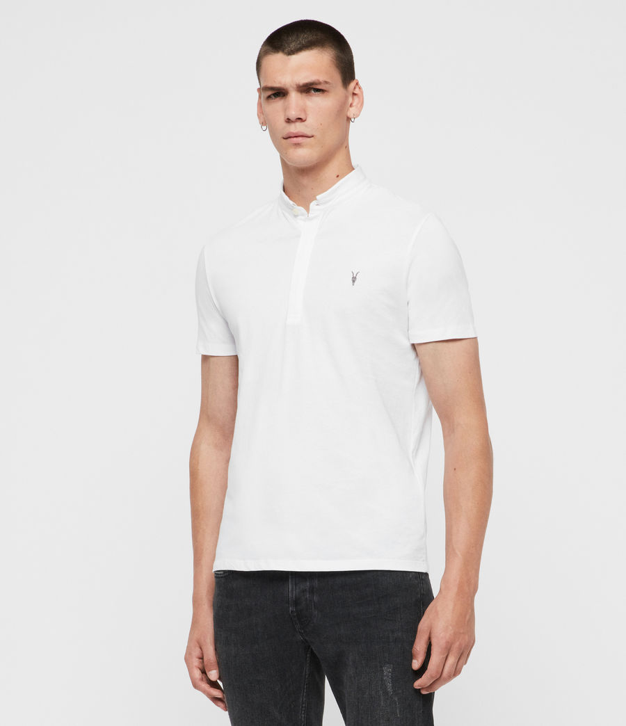 Men's Grail Polo Shirt (optic_white) - Image 1