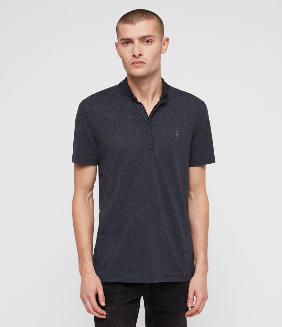 Hommes Polo Grail (merchant_ink_marl) - Image 1