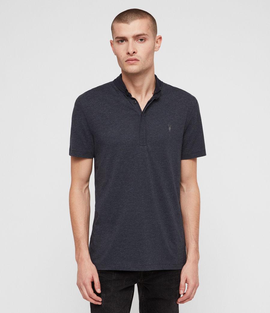 Hombres Grail Polo Shirt (merchant_ink_marl) - Image 1