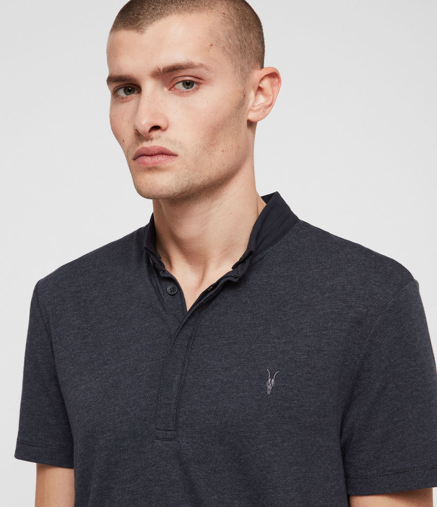 Hommes Polo Grail (merchant_ink_marl) - Image 2