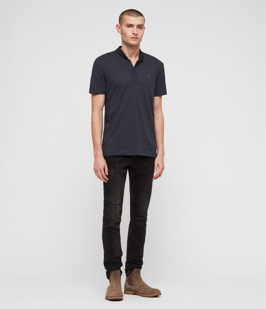 Hombres Grail Polo Shirt (merchant_ink_marl) - Image 3