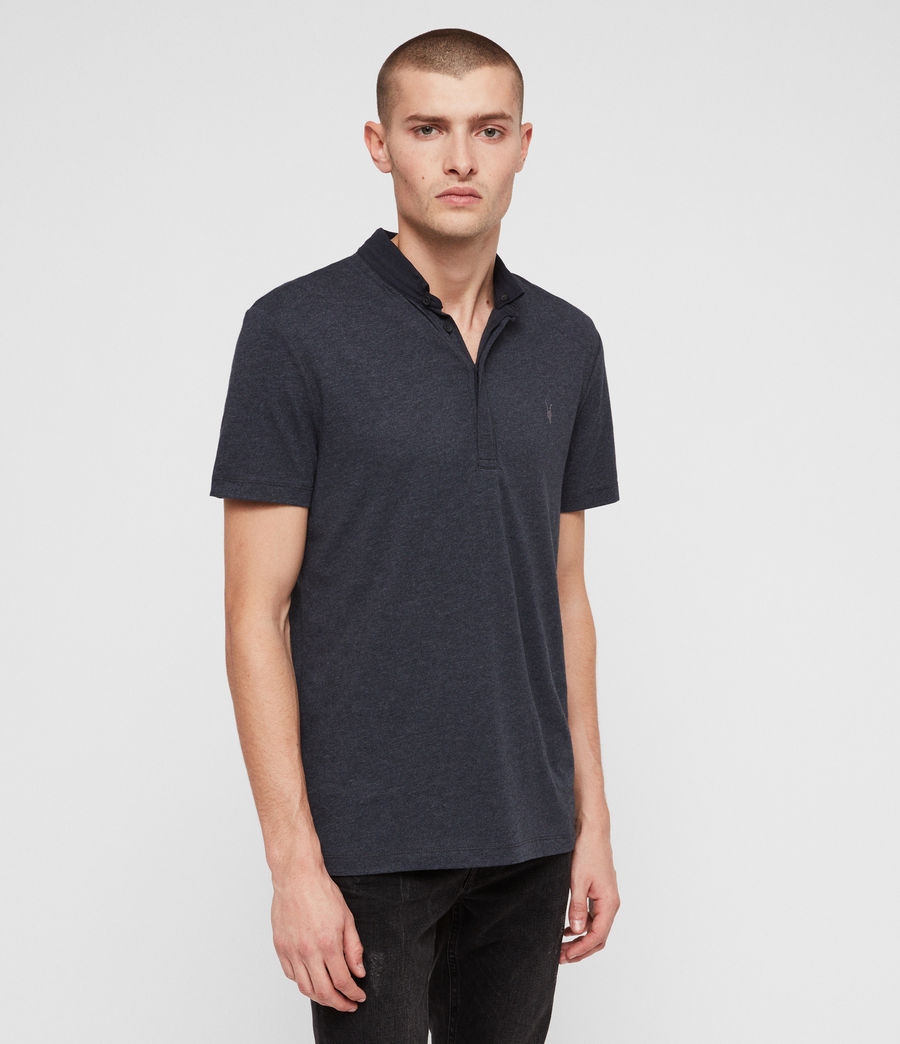 Hommes Polo Grail (merchant_ink_marl) - Image 4