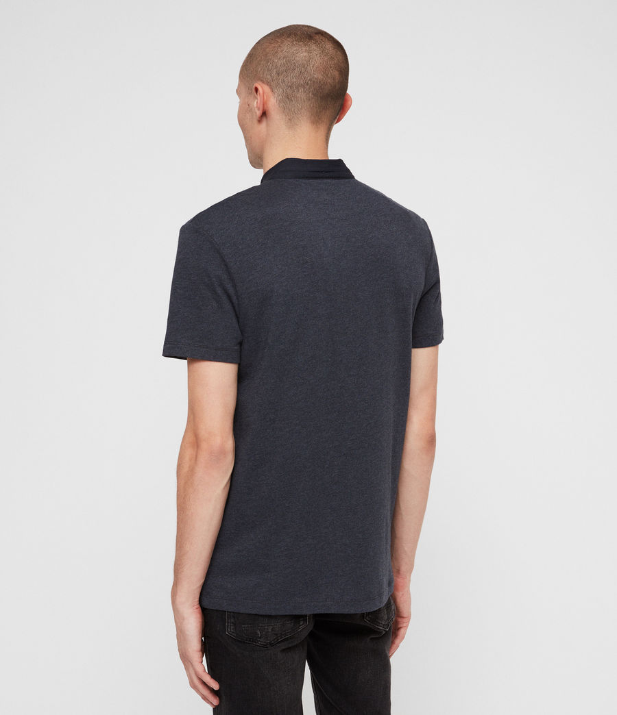Hommes Polo Grail (merchant_ink_marl) - Image 5