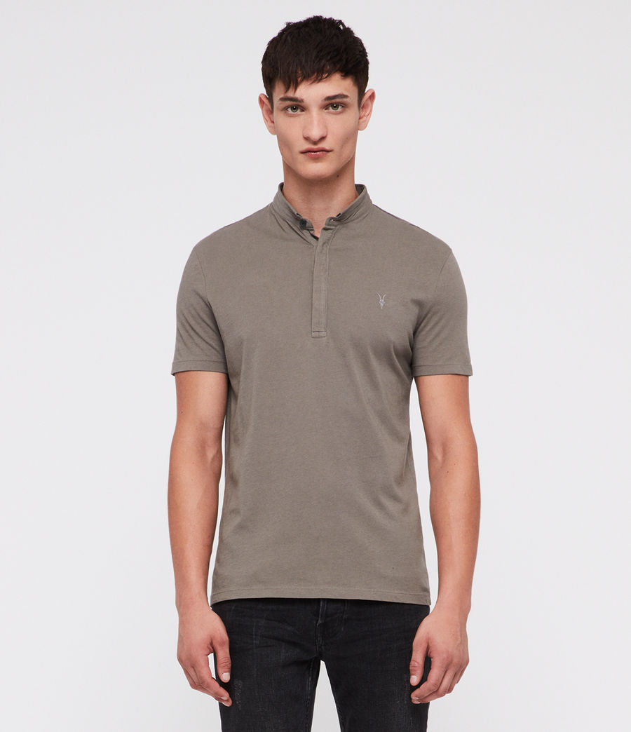 Uomo Grail Polo Shirt (core_grey) - Image 1