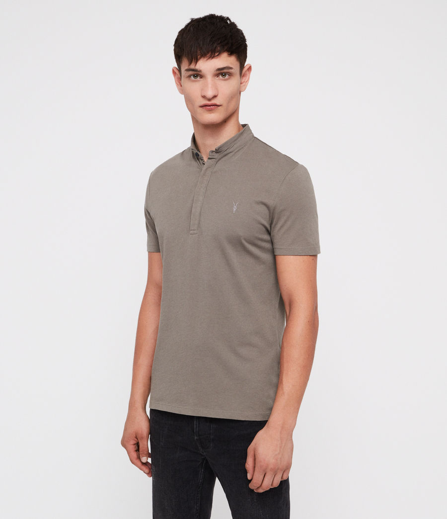 Uomo Grail Polo Shirt (core_grey) - Image 3
