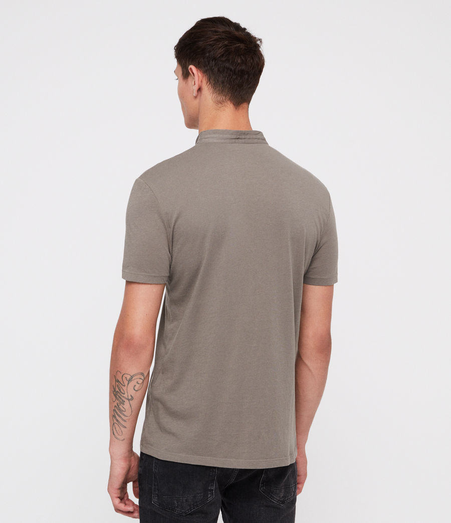 Uomo Grail Polo Shirt (core_grey) - Image 4