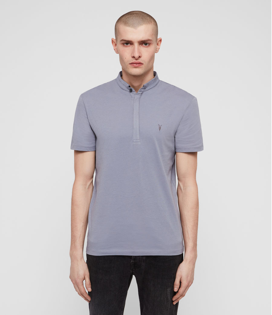 Mens Grail Polo Shirt (detroit_blue) - Image 1