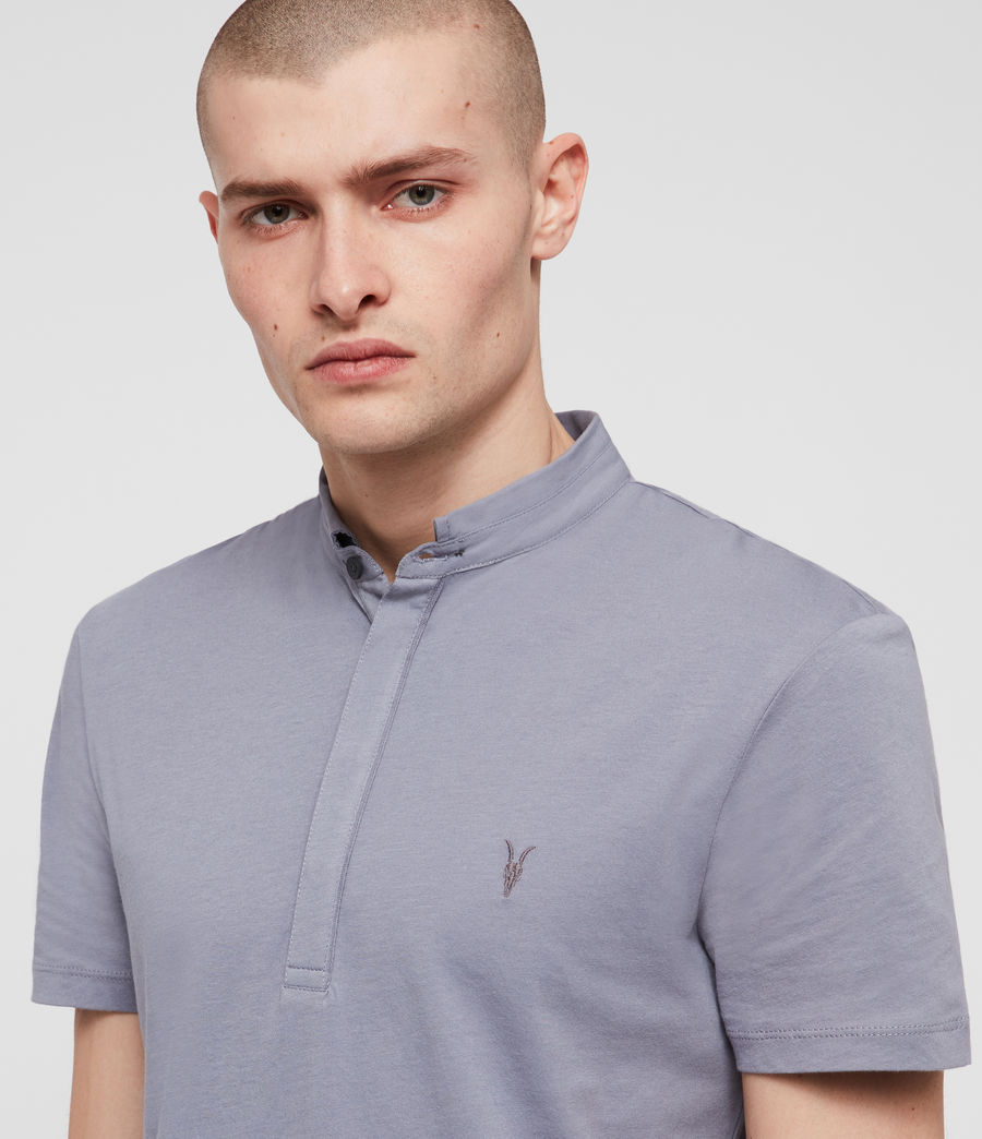 Men's Grail Polo Shirt (detroit_blue) - Image 2
