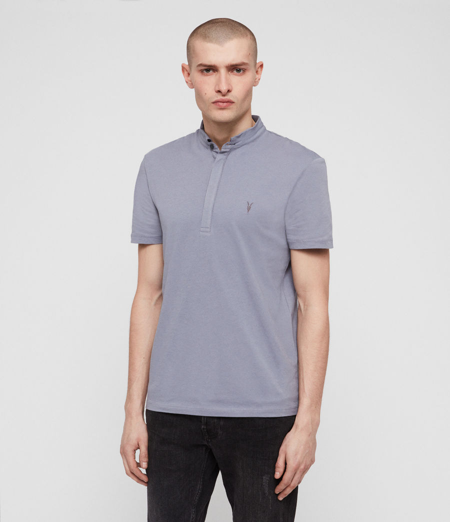 Men's Grail Polo Shirt (detroit_blue) - Image 4