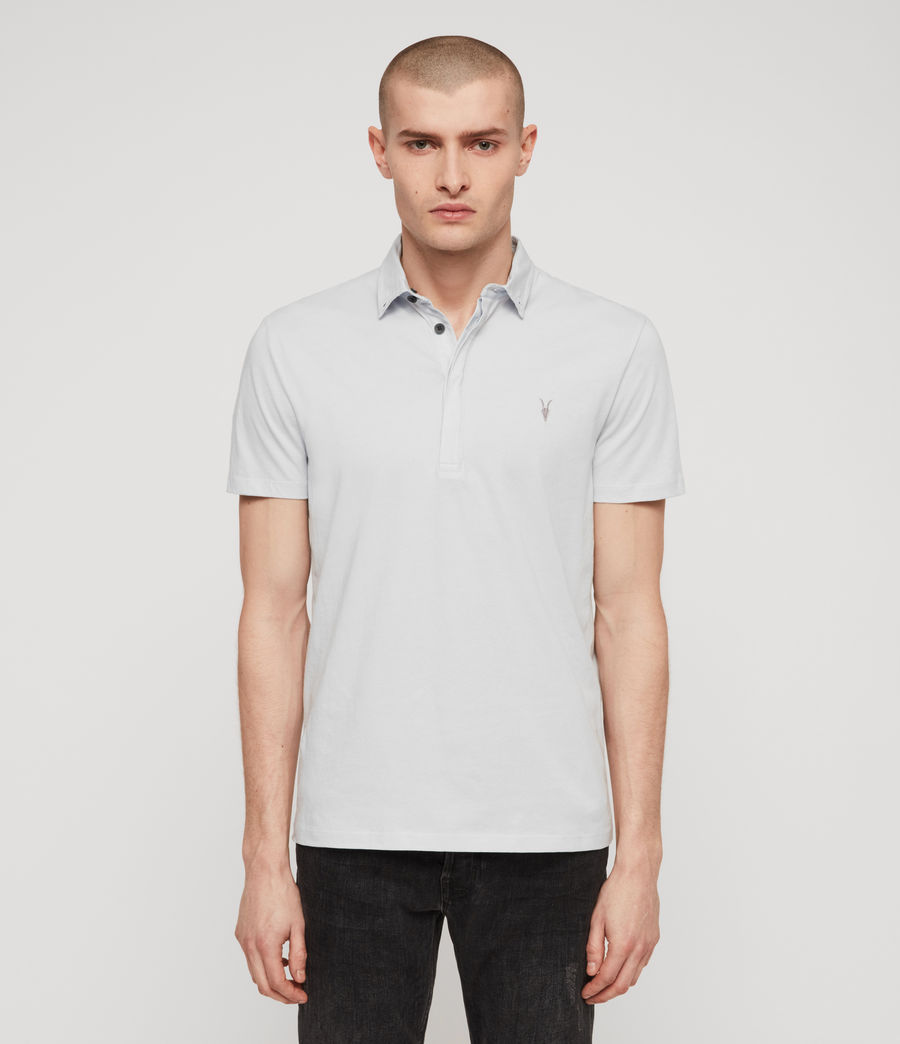 Men's Grail Polo Shirt (sol_blue) - Image 1