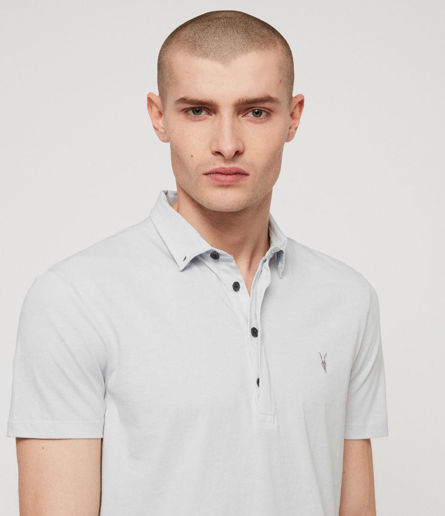 Men's Grail Polo Shirt (sol_blue) - Image 2