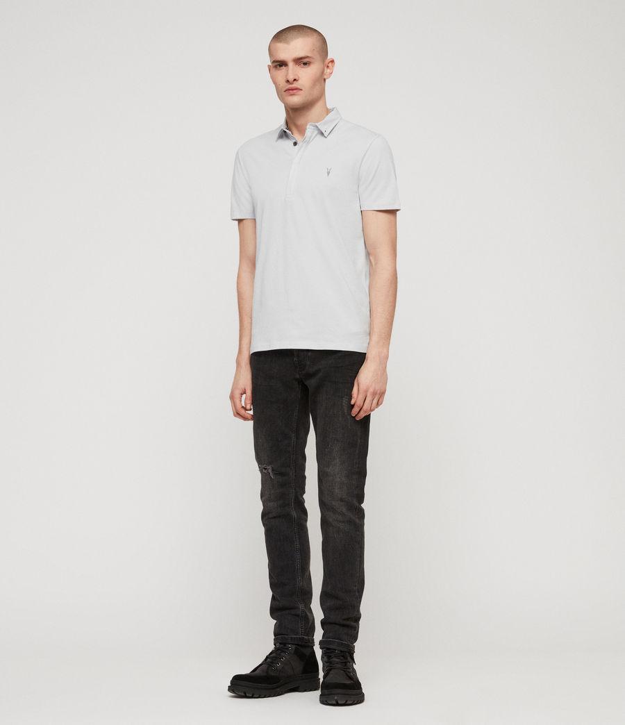 Men's Grail Polo Shirt (sol_blue) - Image 3