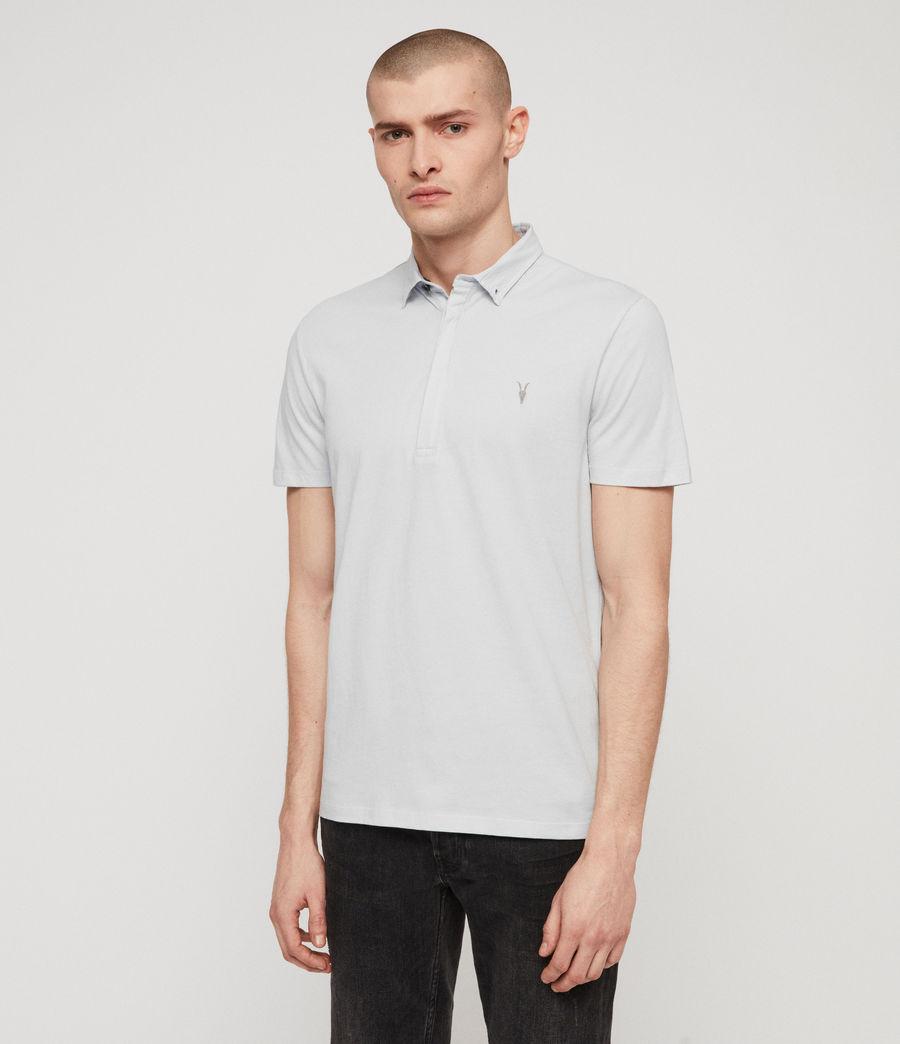 Men's Grail Polo Shirt (sol_blue) - Image 4