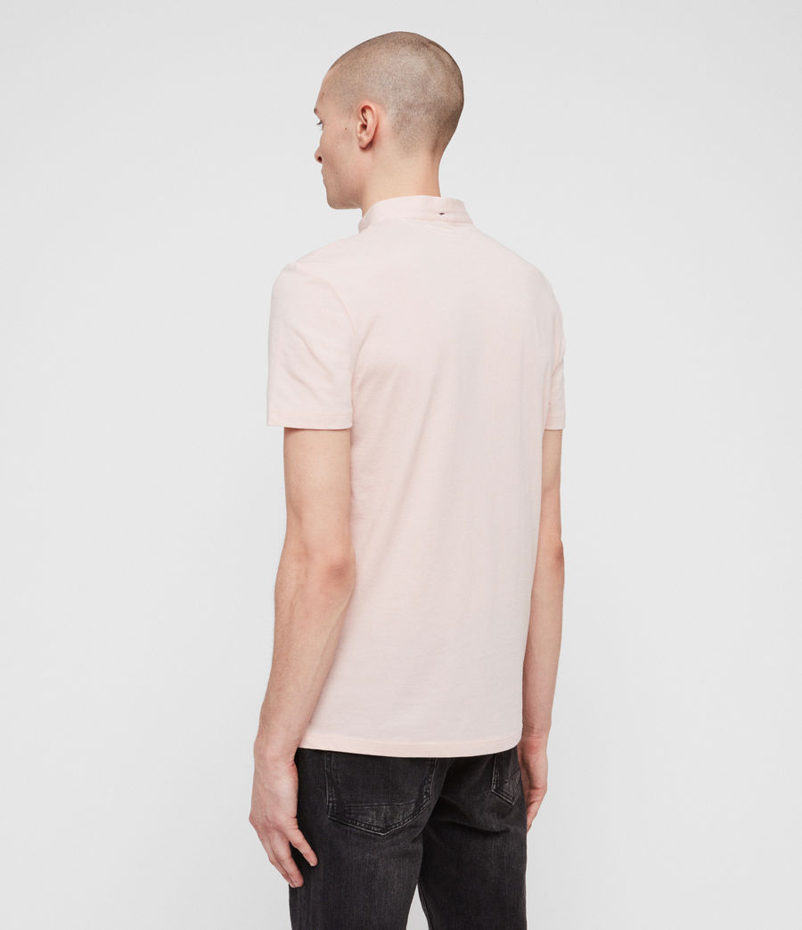 Men's Grail Polo Shirt (bleach_pink) - Image 5