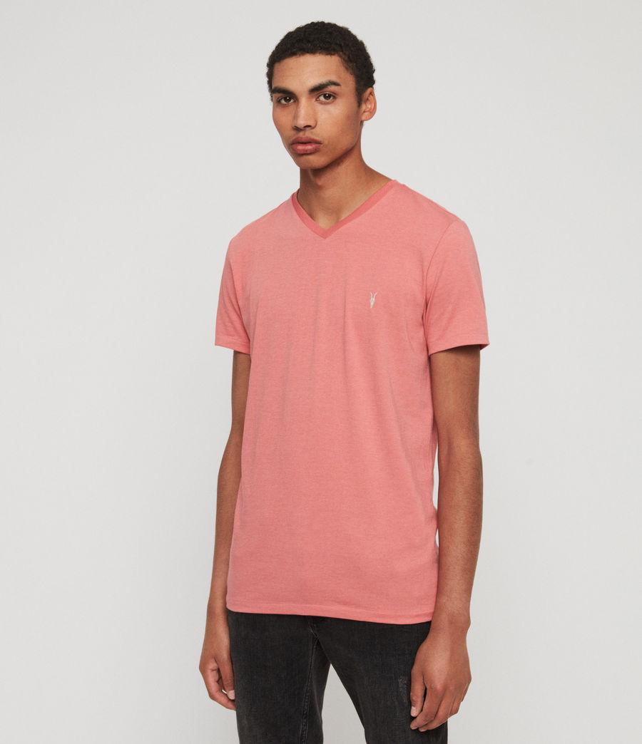 Hommes T-Shirt Cooper (havana_pink_marl) - Image 4