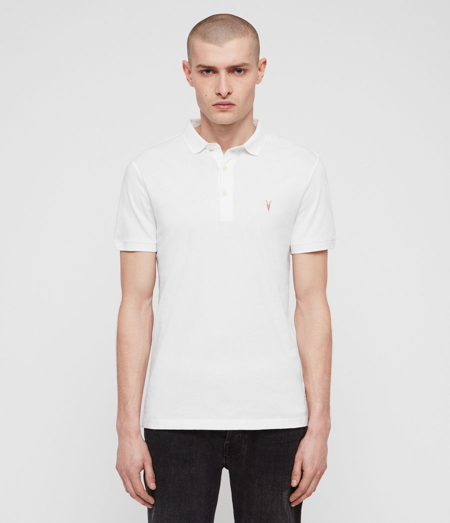 Hombre Polo Cooper (optic_white) - Image 1