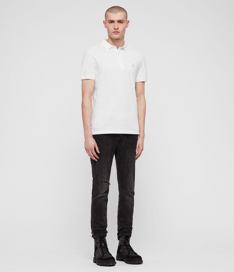 Hombre Polo Cooper (optic_white) - Image 3