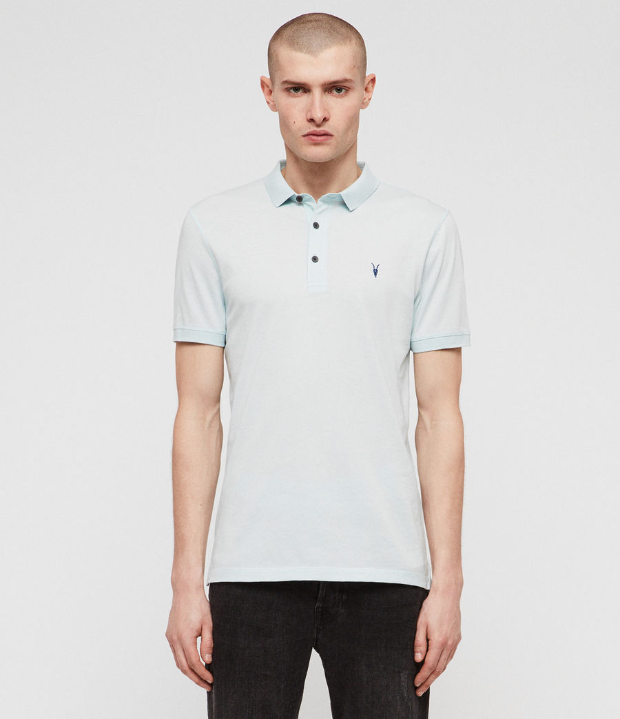 Men's Cooper Polo Shirt (blossom_pink) - Image 1