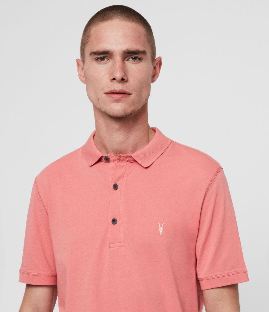 Men's Cooper Polo Shirt (blossom_pink) - Image 2