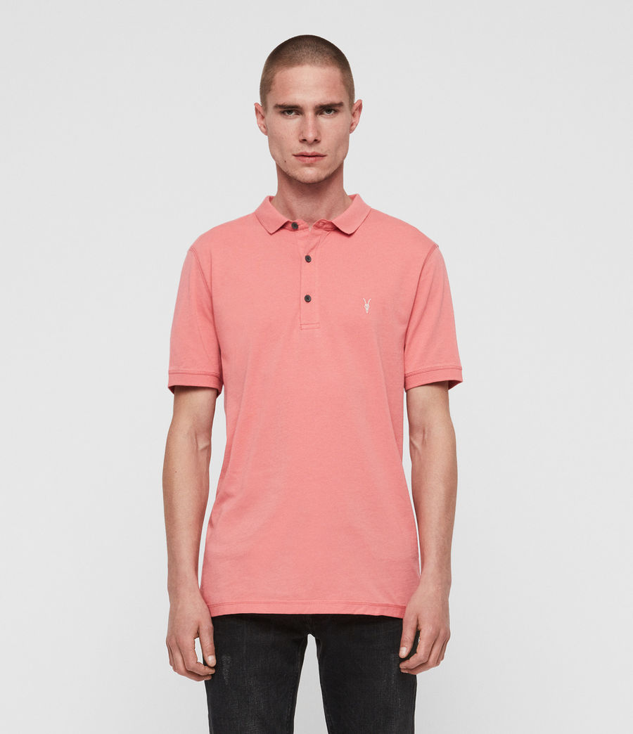 Men's Cooper Polo Shirt (blossom_pink) - Image 3