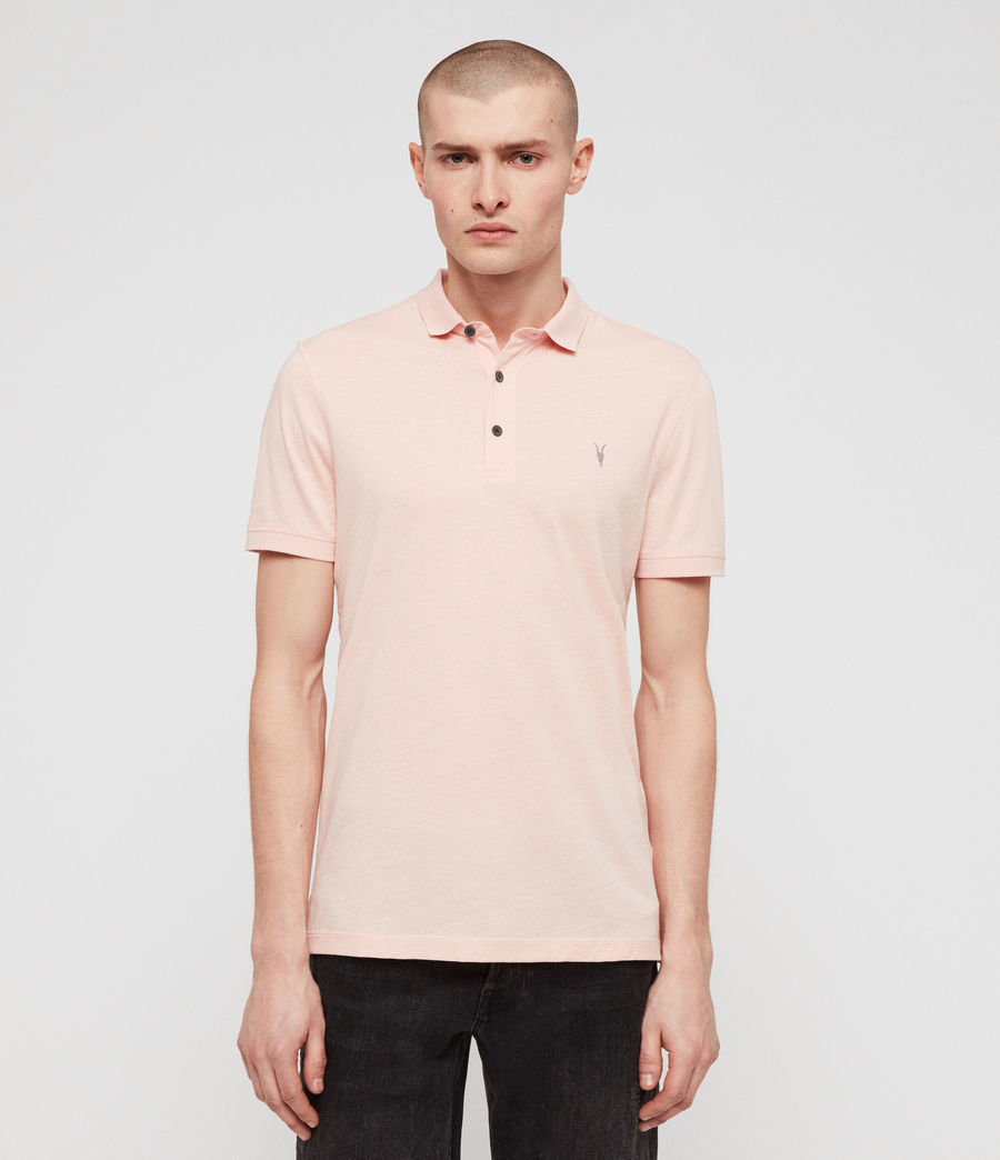 Hommes Polo Cooper (coral_pink_marl) - Image 1