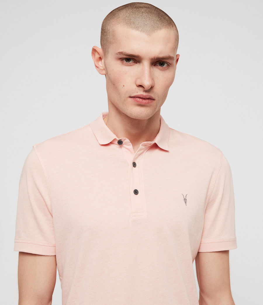 Hommes Polo Cooper (coral_pink_marl) - Image 2