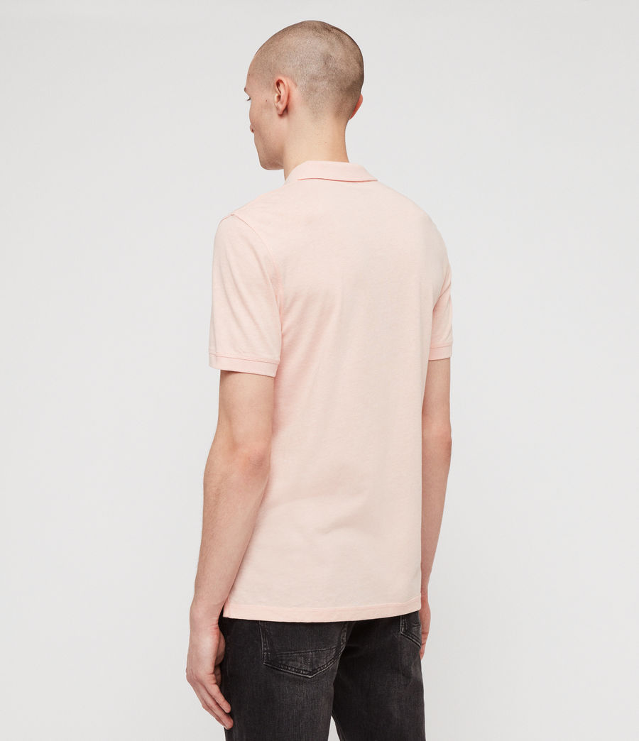 Hommes Polo Cooper (coral_pink_marl) - Image 4