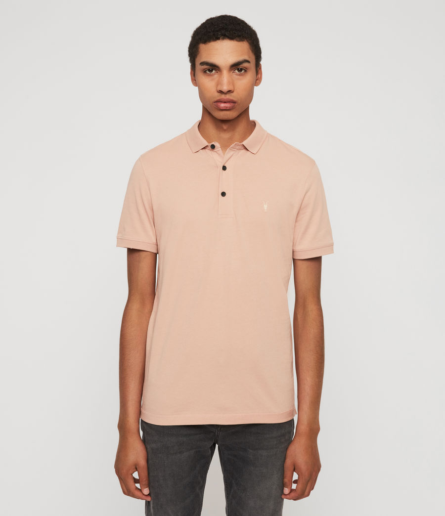 Men's Cooper Short Sleeve Polo Shirt (blossom_pink) - Image 1