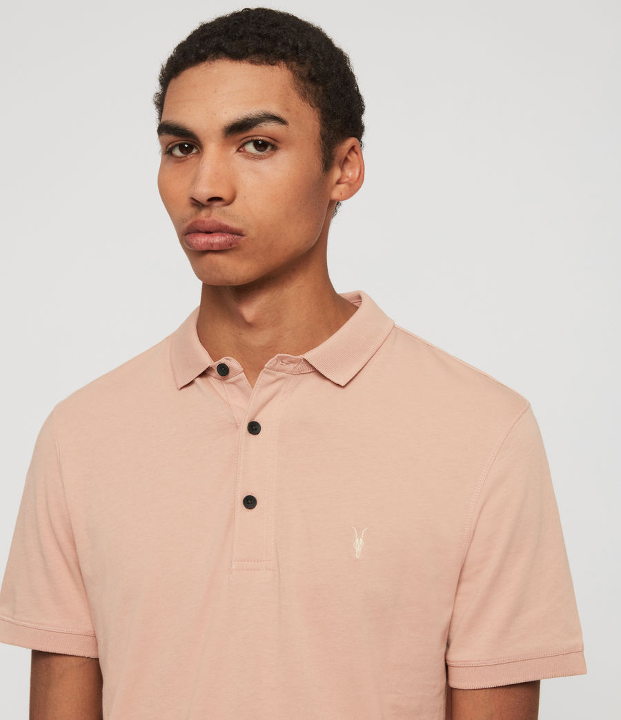 Men's Cooper Short Sleeve Polo Shirt (blossom_pink) - Image 2