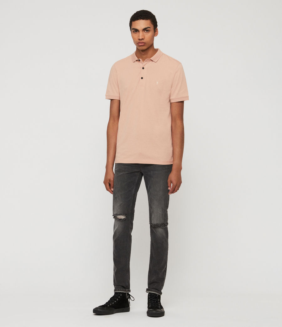 Men's Cooper Short Sleeve Polo Shirt (blossom_pink) - Image 3