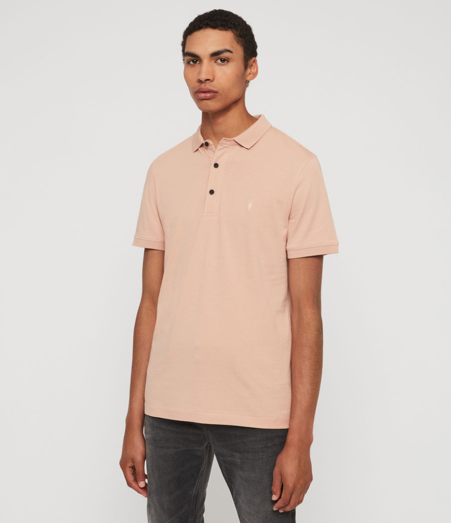 Men's Cooper Short Sleeve Polo Shirt (blossom_pink) - Image 4