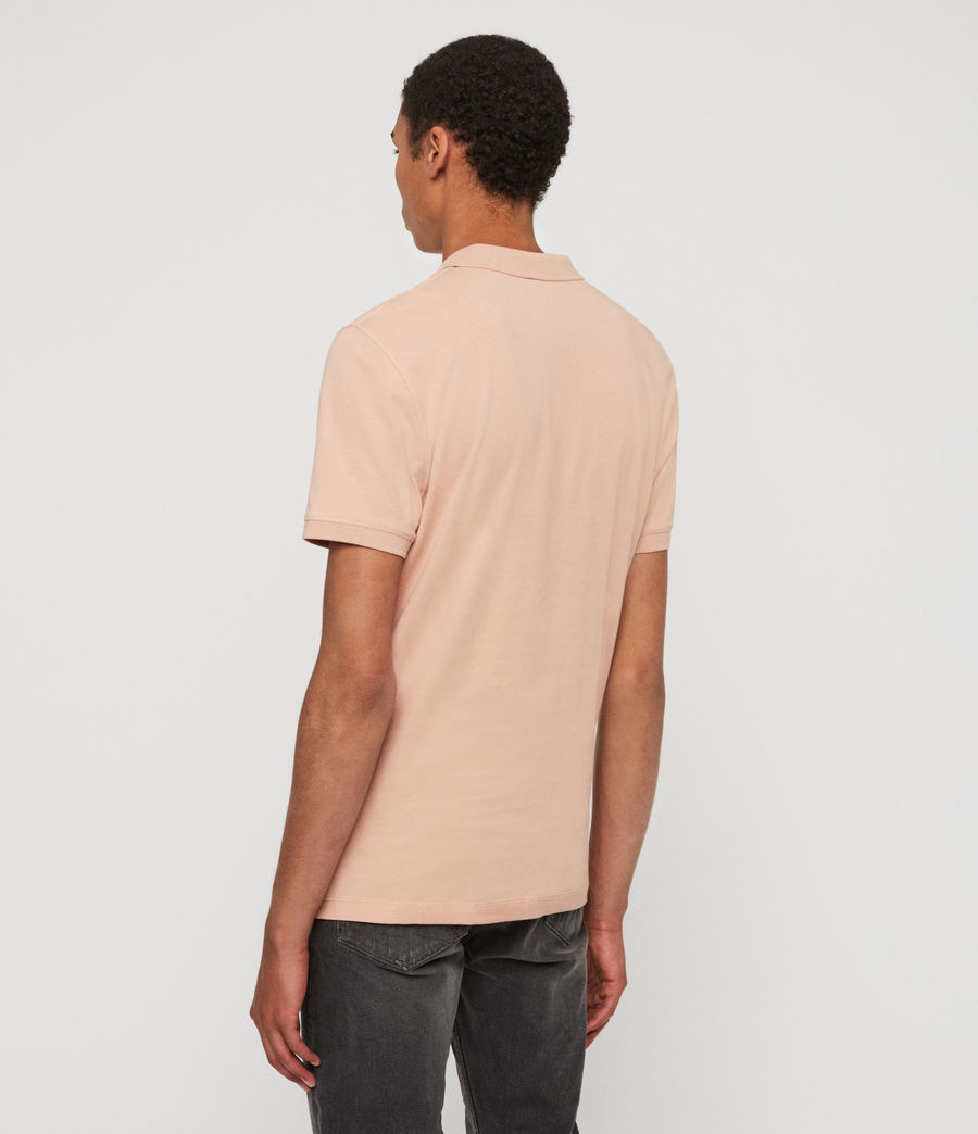 Men's Cooper Short Sleeve Polo Shirt (blossom_pink) - Image 5