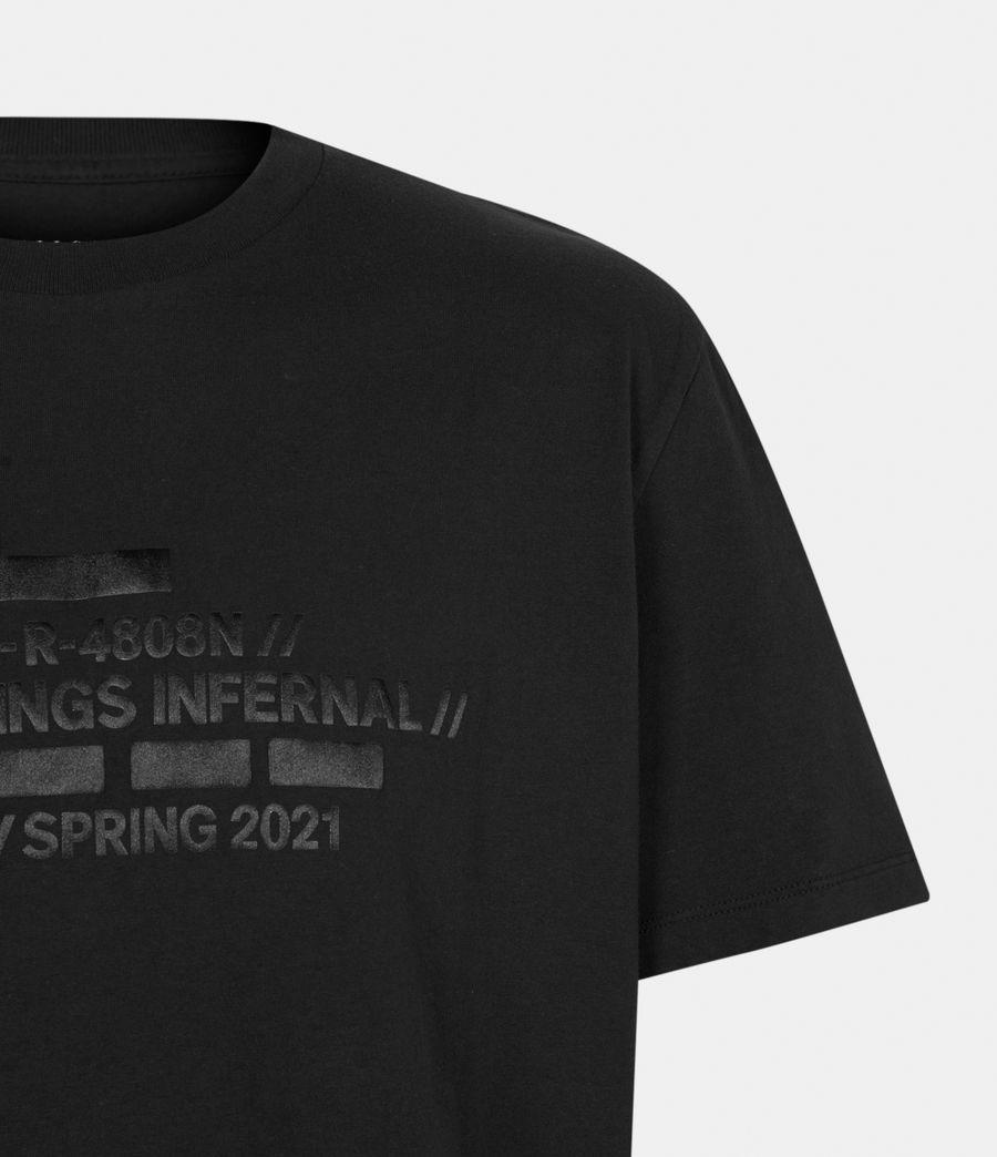 Men's Silas Crew T-Shirt (jet_black) - Image 5