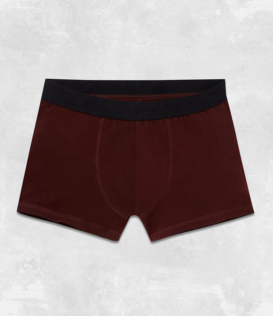 Men's 3 Pack Morrall Boxers (red_charcoal_black) - Image 2