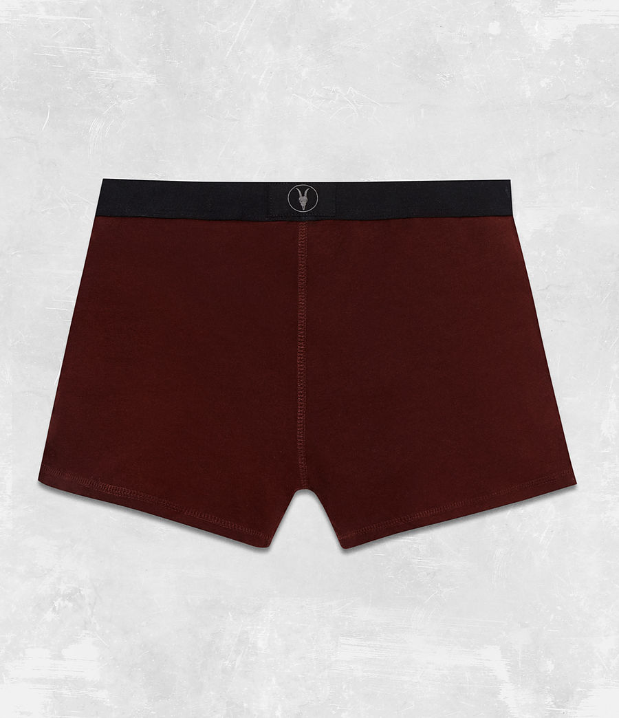 Men's 3 Pack Morrall Boxers (red_charcoal_black) - Image 3