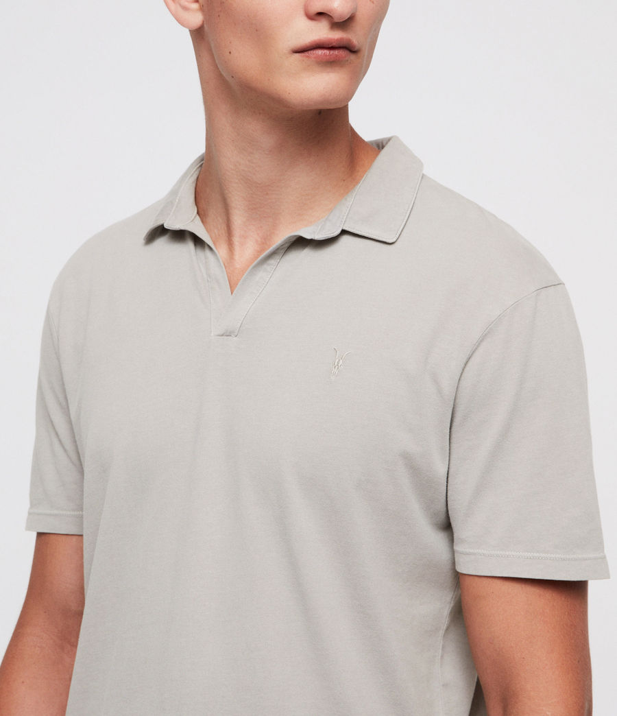 Mens Ossage Open Polo Shirt (land_grey) - Image 2