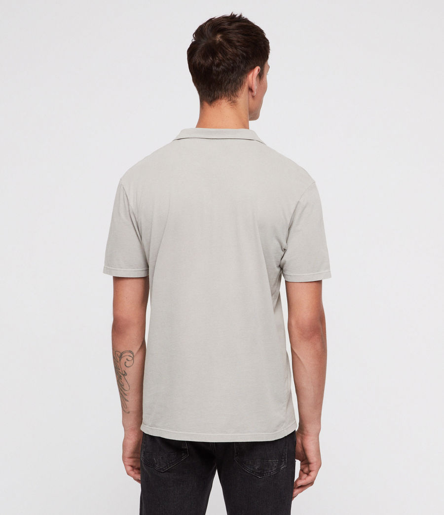 Mens Ossage Open Polo Shirt (land_grey) - Image 4