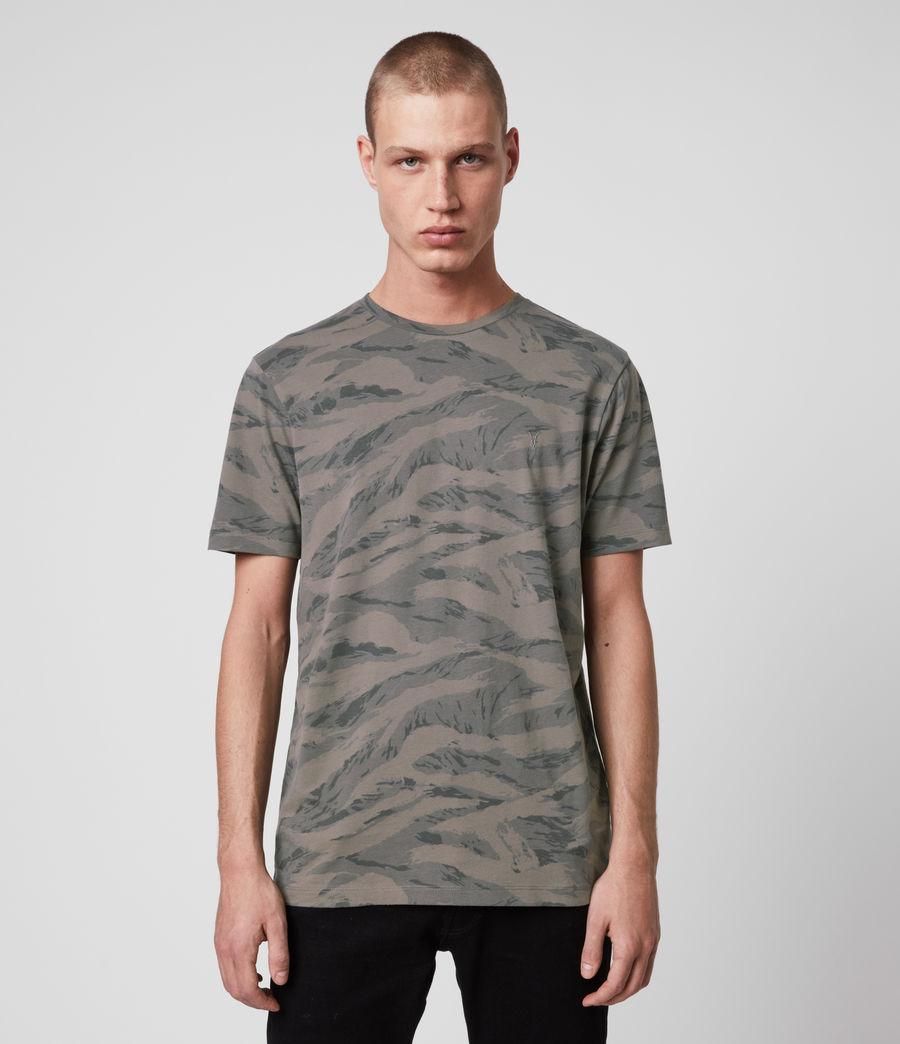 Hombres Brace Camo Crew T-Shirt (khaki_green) - Image 1