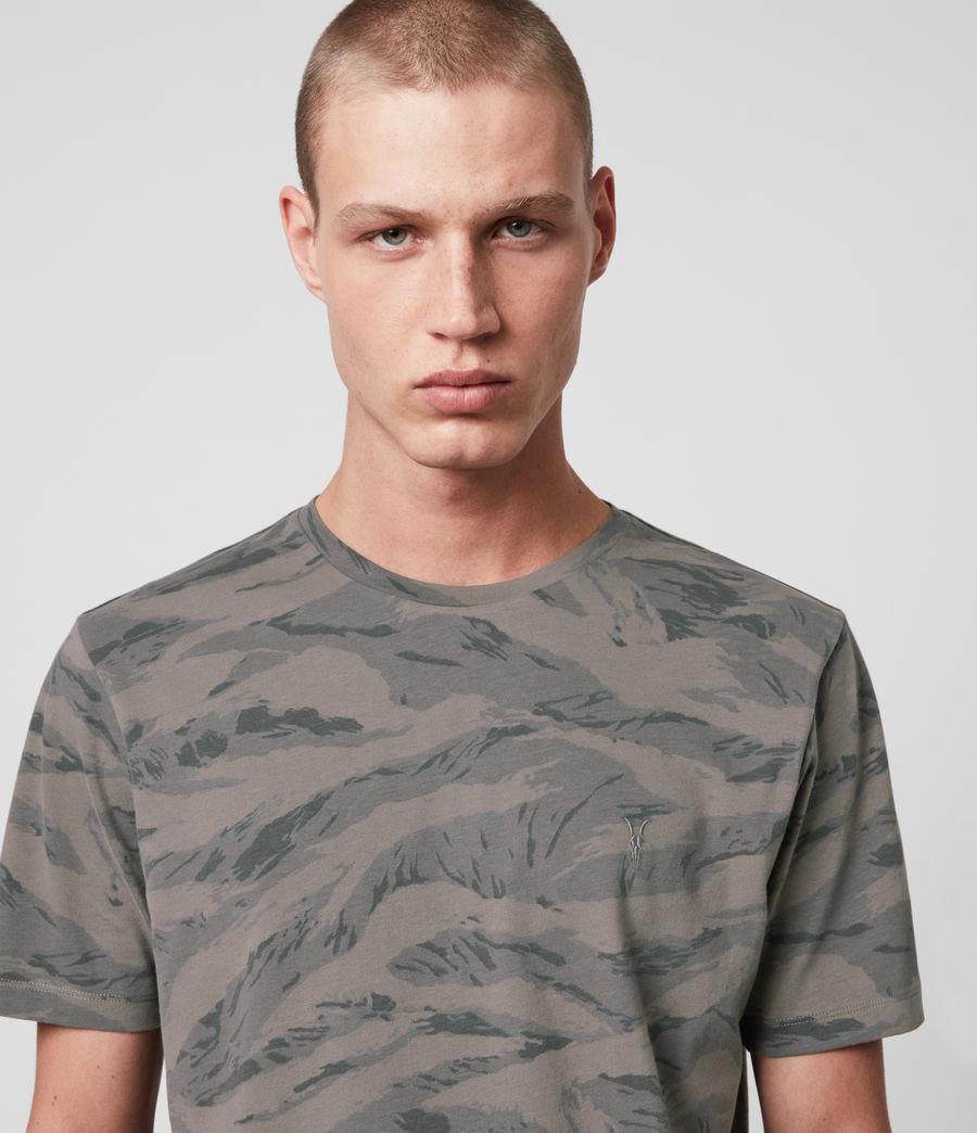 Hombres Brace Camo Crew T-Shirt (khaki_green) - Image 2