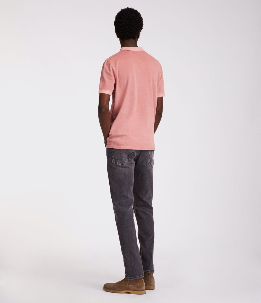 Hommes Polo Atom (crepe_pink) - Image 5
