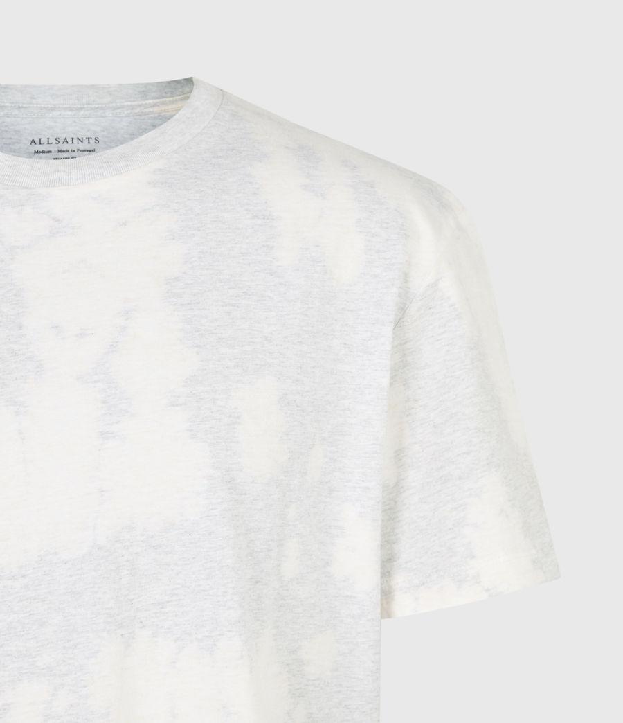 Mens Phillips Crew T-Shirt (light_grey_marl) - Image 5