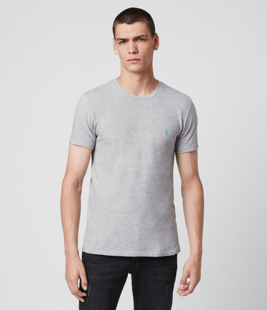 Men's Phoenix Crew T-Shirt (grey_marl) - Image 1