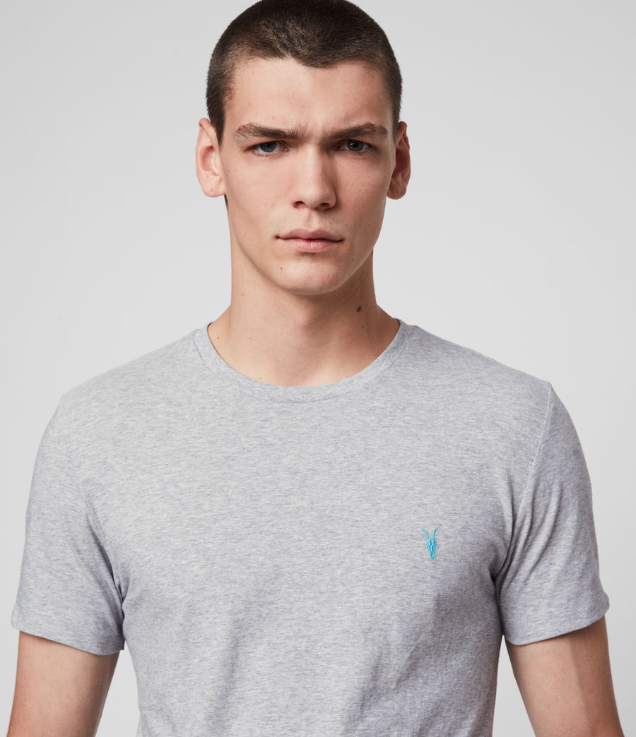 Men's Phoenix Crew T-Shirt (grey_marl) - Image 2