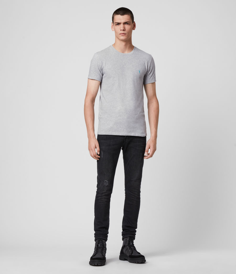 Men's Phoenix Crew T-Shirt (grey_marl) - Image 3
