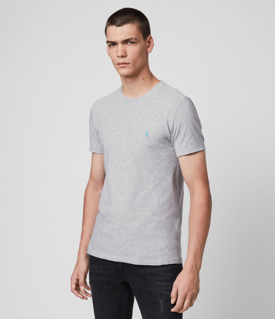 Men's Phoenix Crew T-Shirt (grey_marl) - Image 4
