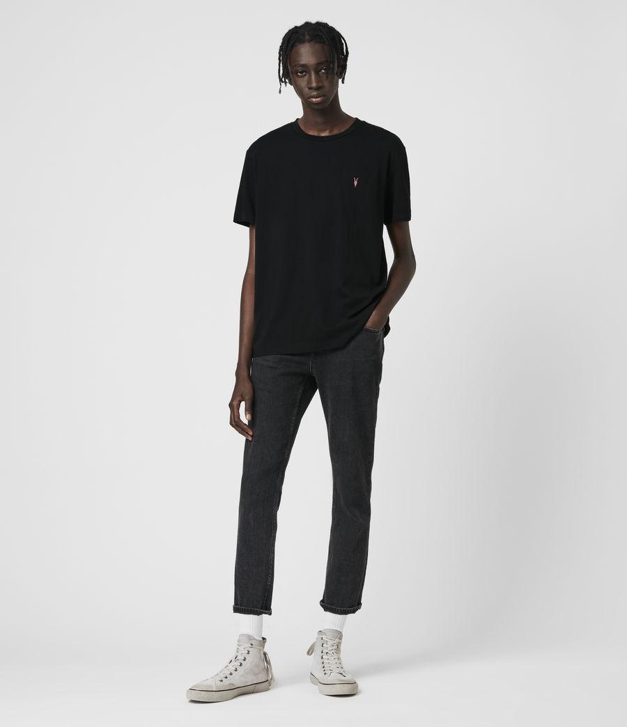 Hombre Phoenix Crew T-Shirt (jet_black) - Image 3