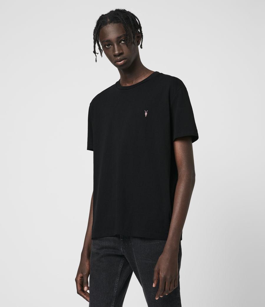 Hombre Phoenix Crew T-Shirt (jet_black) - Image 4