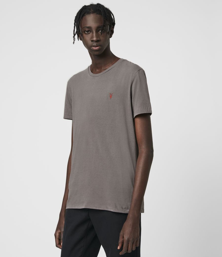 Herren Phoenix Crew T-Shirt (core_grey) - Image 4