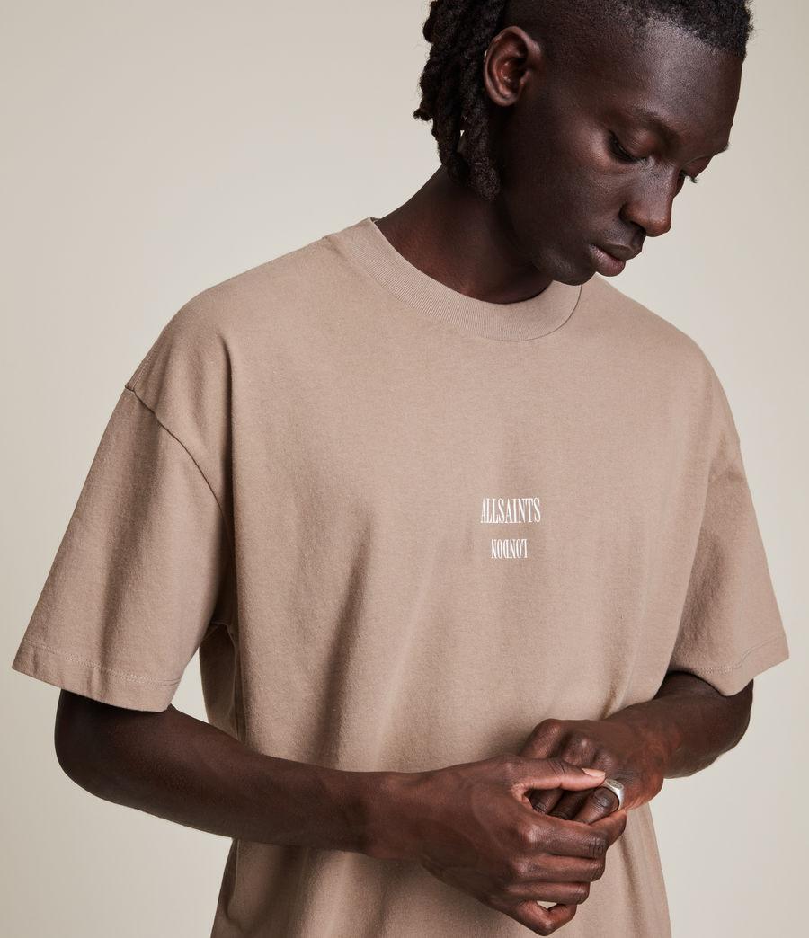 Men's Dixon Crew T-Shirt (smoked_brown) - Image 2